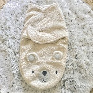 Fleece Bear Swaddle